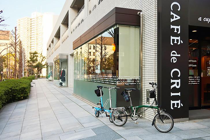 カフェドクリエ 神戸ポートアイランド店の外観