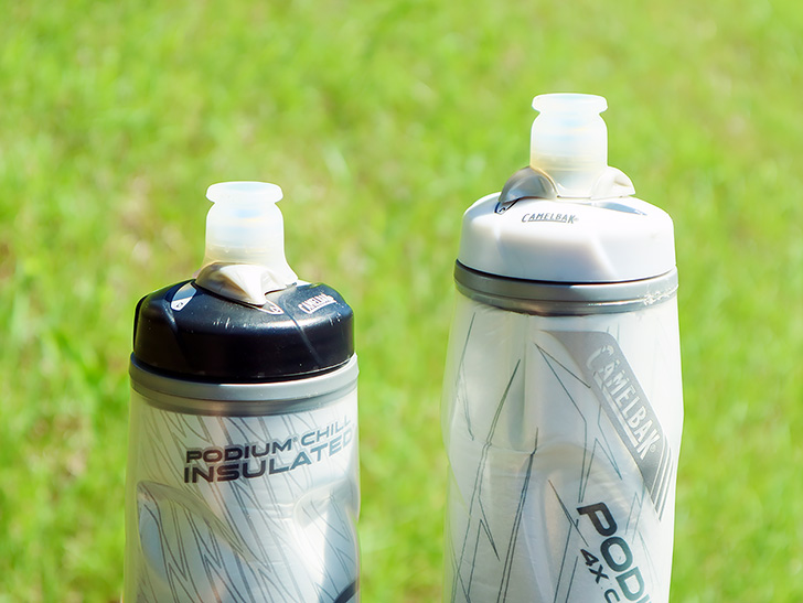 2本のサイクルボトル