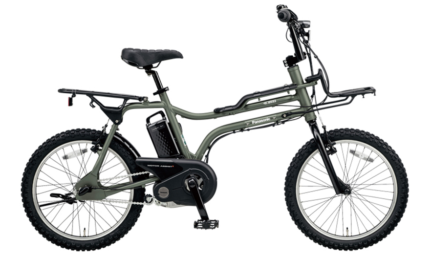 パナソニックの電動アシスト付き自転車「EZ」の写真(メーカー公式画像の引用転載)