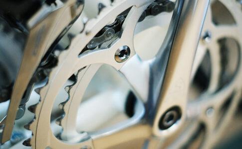 自転車のギアの写真