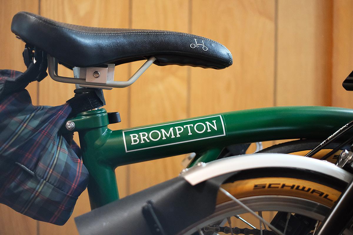 ブロンプトンの写真