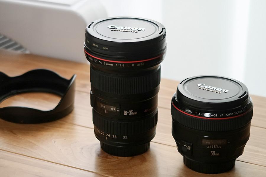 カメラのレンズの写真