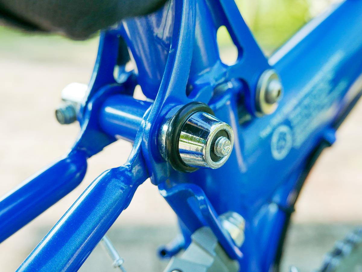 BIKE FRIDAY(バイクフライデー)のクイックレバーのOリングを新品に交換した様子